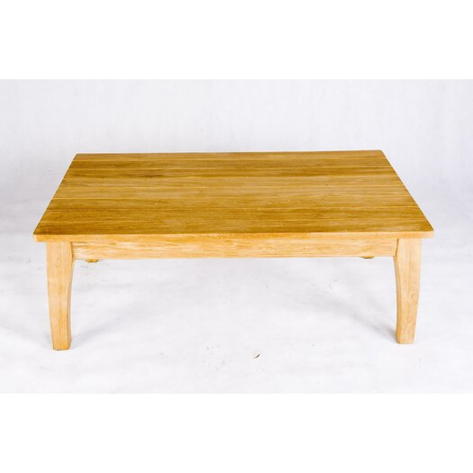 Les Jardins Teak Stafford Rectangular Coffee Table