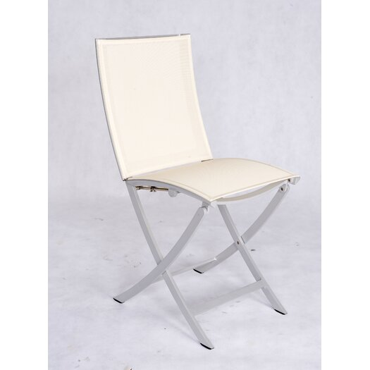 Les Jardins Dripper Folding Dining Side Chair