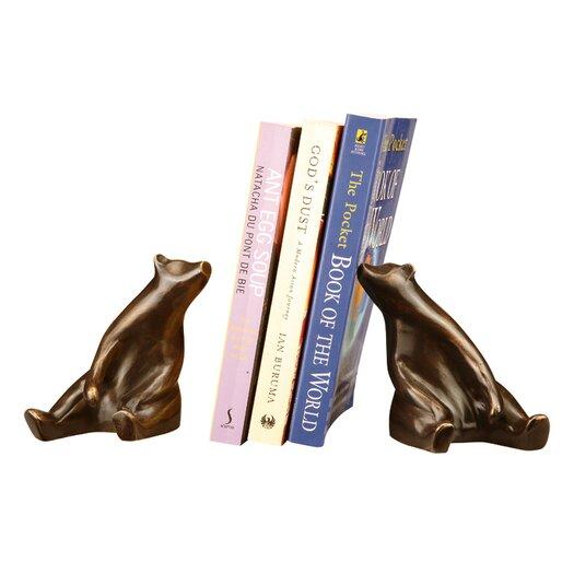 SPI Home Sitting Bear Book Ends