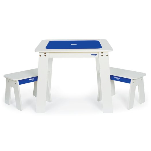 Chalk Table and Benches
