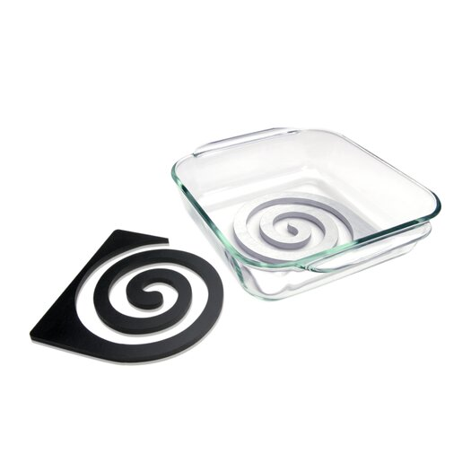 Mint Inc. Zebra Double Trivet Set