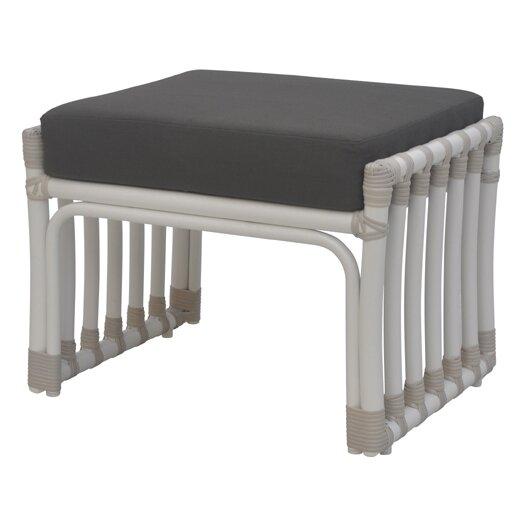 David Francis Furniture Laguna Ottoman with Cushion