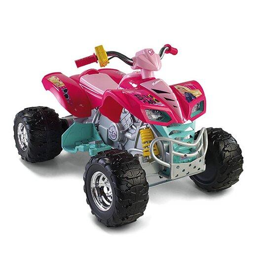 Fisher-Price Power Wheels Barbie Kawasaki KFX 12V Battery Powered  ATV