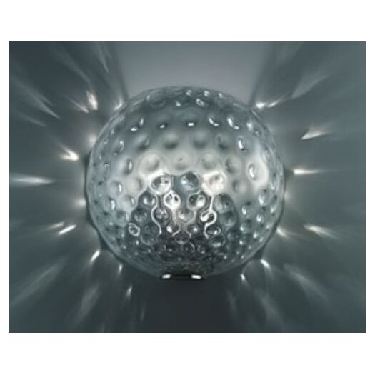 Leucos Derby Wall/Ceiling Light in Chrome by Massimo Tonetto