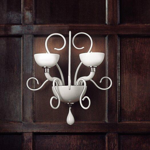Leucos Bolero 2 Light Wall Light by Carlo Nason