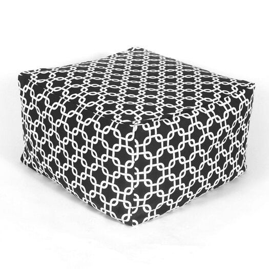Majestic Home Products Bean Bag Ottoman