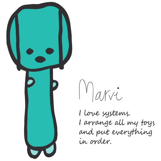 Meo and Friends Marvi Figure Pillow