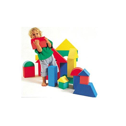 edushape Giant Blocks 16/pk 4-1/3 Thick
