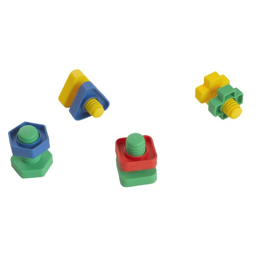 edushape Easy-Grip Nuts and Bolts