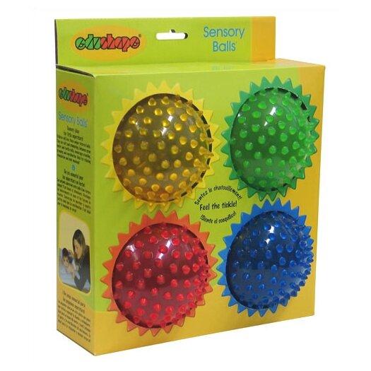 "edushape 4"" See-Me Sensory Toy Balls Set"