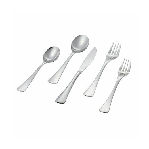 Ginkgo Mariko 5 Piece Flatware Set