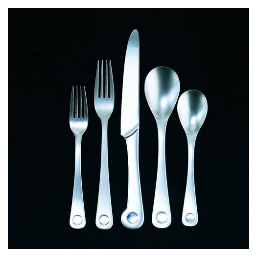 Ginkgo Pendulum 20 Piece Flatware Set