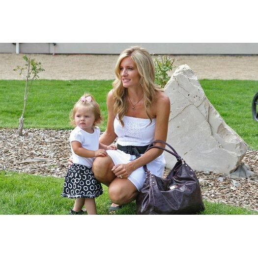 Amy Michelle Zebra Tote Diaper Bag