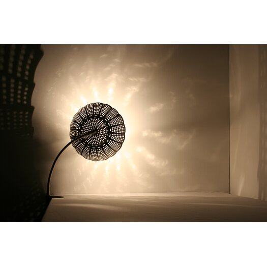 "Lightexture Steamlight 20"" H Table Lamp with Bowl Shade"