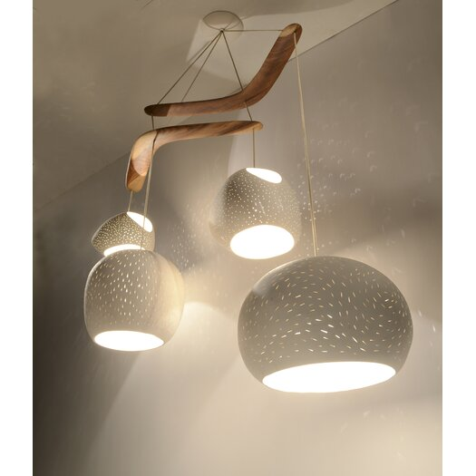 Lightexture Claylight XL Boomerang Chandelier
