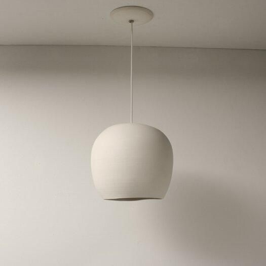 """Lightexture Claylight 8.5"""" Porcelain Symmetrical Pendant"""