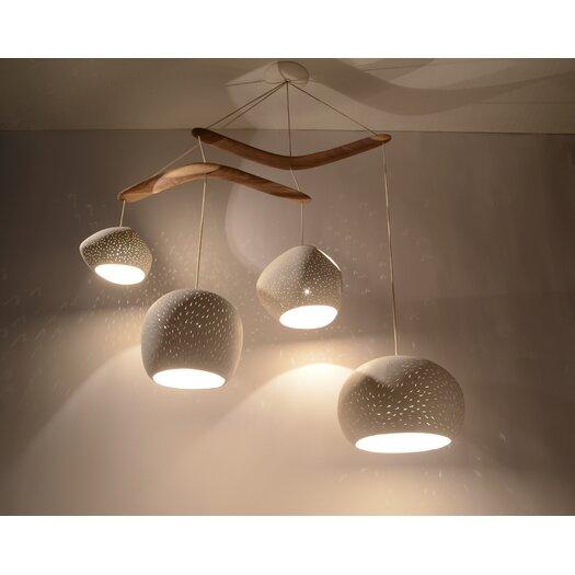 Lightexture Claylight XL Boomerang Chandelier