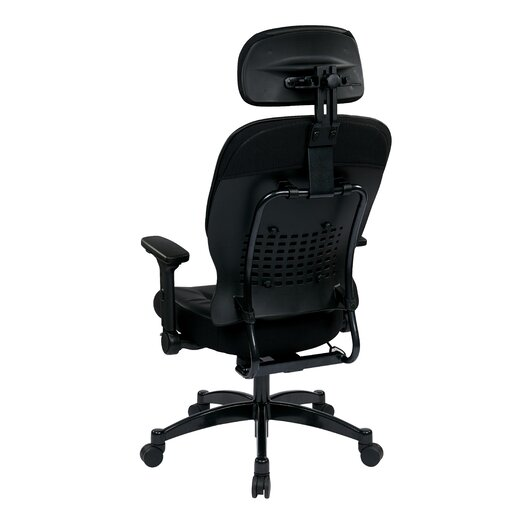 "Office Star Products Space 23.25"" Eco Leather Managers Chair with Headrest"