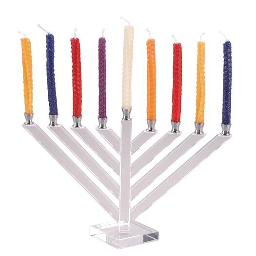 Israel Giftware Design Crystal Menorah