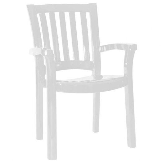 Compamia Sunshine Stacking Dining Arm Chair