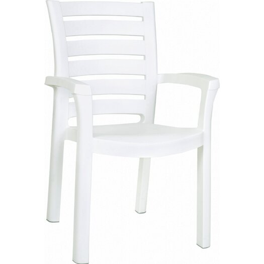 Compamia Marina Stacking Dining Arm Chair