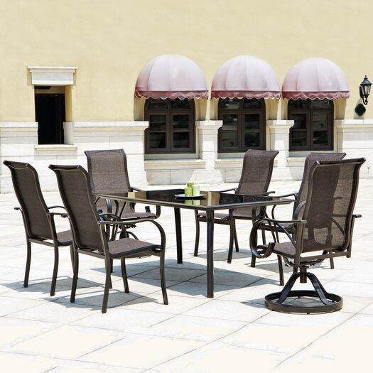 Mission Hills Coronado 7 Piece Dining Set