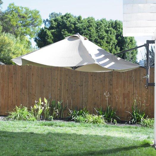 Mission Hills 10' Tucson Wall Umbrella