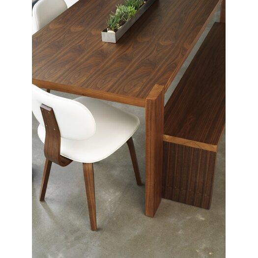 Gus* Modern Plank Wooden Kitchen Bench
