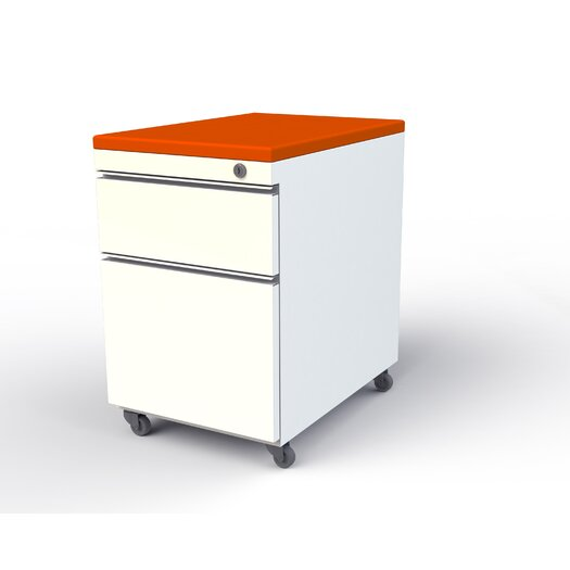 Scale 1:1 EYHOV Workstations Accessories 2-Drawer Mobile  File