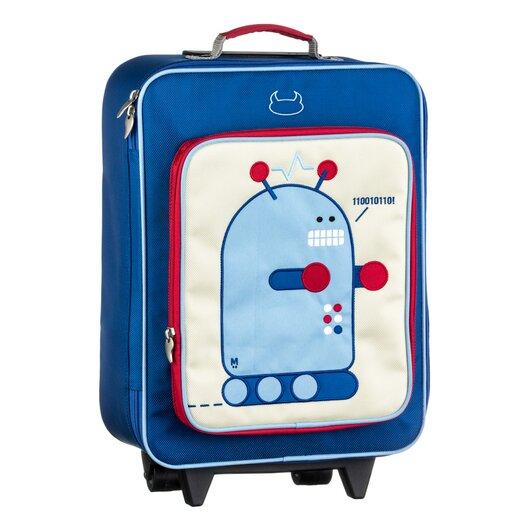 Beatrix Wheelie Pixel Suitcase