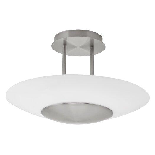 EGLO Oiram 1 Light Semi Flush Ceiling Light
