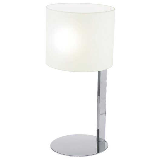 """EGLO Chicco 21.5"""" H Table Lamp with Drum Shade"""