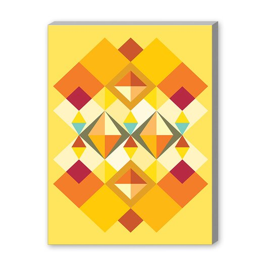 Americanflat African Fabric Pattern Graphic Art