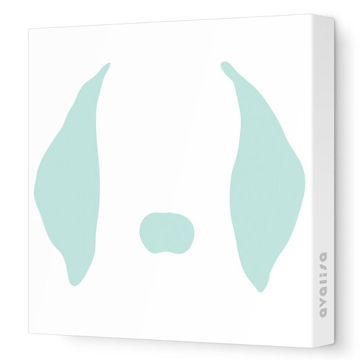 Avalisa Animal Faces Floppy Ears Stretched Canvas Art