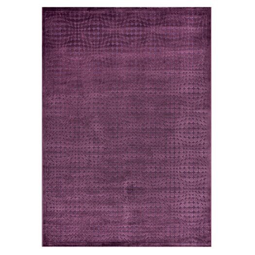 Loloi Rugs Halton Too Purple Solid Area Rug