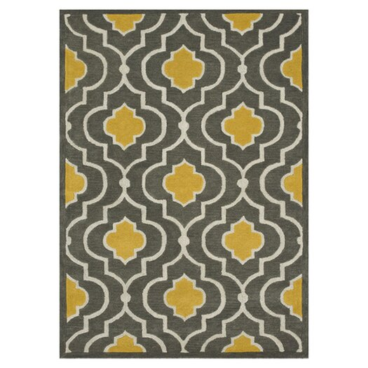 Loloi Rugs Brighton Grey/Gold Area Rug
