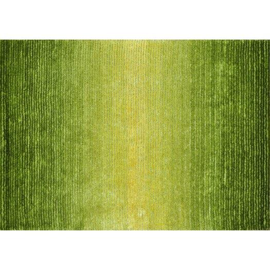 Loloi Rugs Jasper Shag Green Glow Area Rug