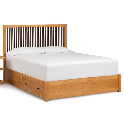 Copeland Furniture Dominion Storage Bed with Spindle Headboard