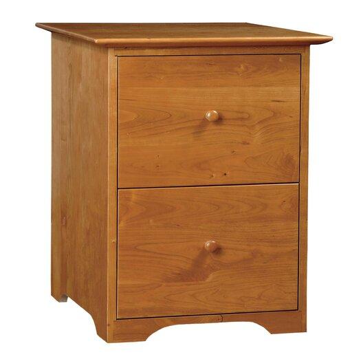 Copeland Furniture Sarah 2-Drawer  Rolling File