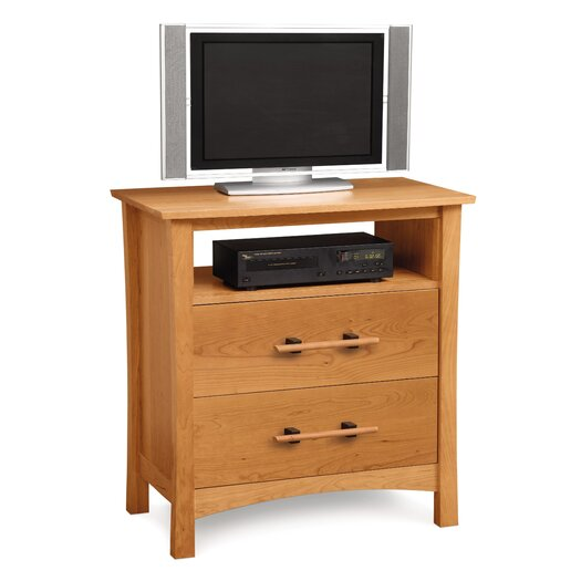 Copeland Furniture Monterey 2 Drawer Chest with Media Organizer