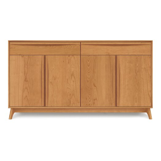 Copeland Furniture Catalina 4 Door and 2 Drawer Buffet