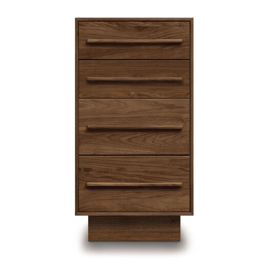 Copeland Furniture Moduluxe 4 Drawer Narrow Chest