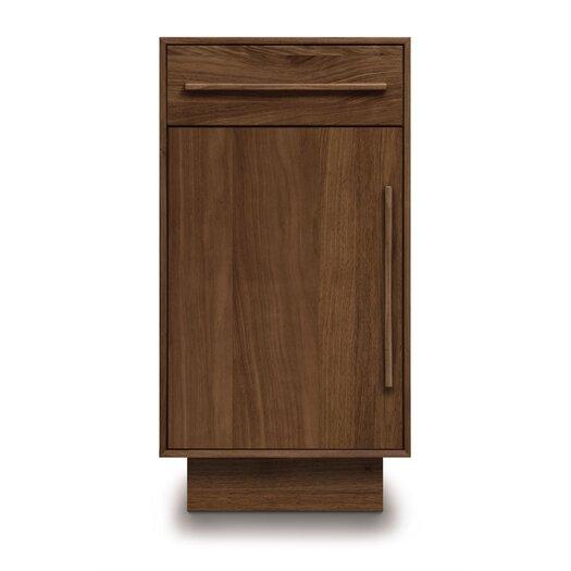 Copeland Furniture Moduluxe 1 Drawer over 1 Door Narrow Chest
