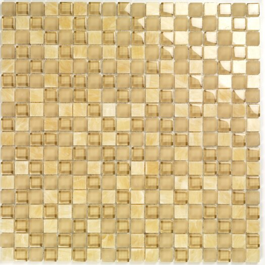 Casa Italia Pure & Natural Natural Stone and Glass Mosaic in Beige