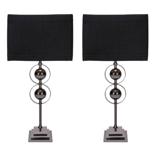 "Aspire Jaren 25"" H Table Lamp with Drum Shade"