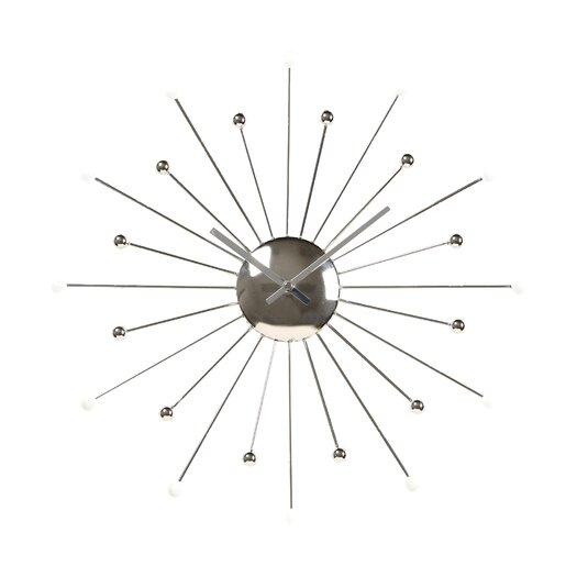 """Ashton Sutton Starburst 18"""" Wall Clock"""