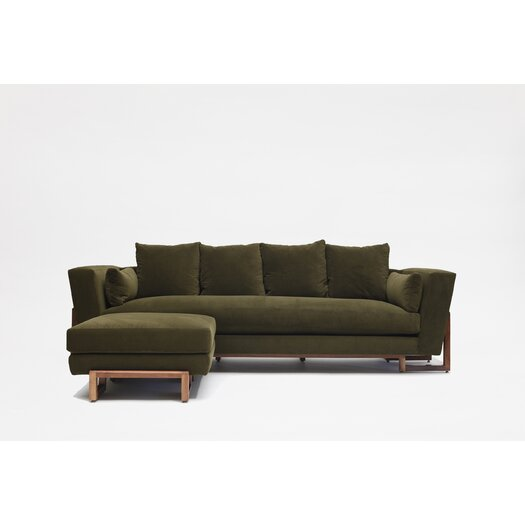 LRG Sofa with Ottoman