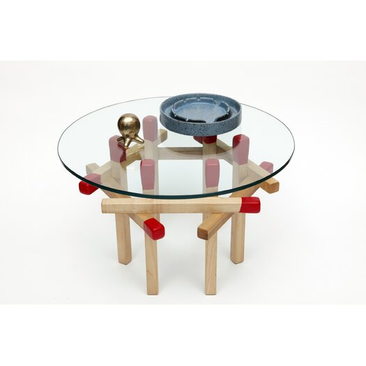 Matchstick End Table