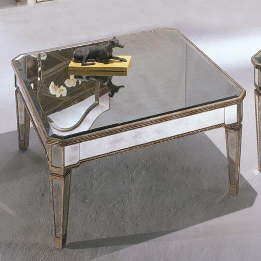 Bassett Mirror Borghese Mirrored Square Cocktail