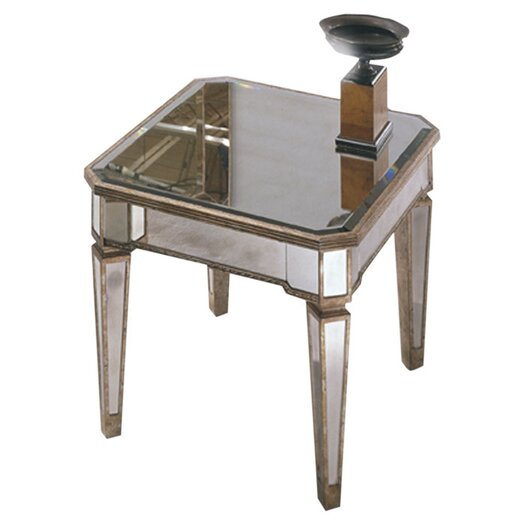 Bassett Mirror Borghese Mirrored Rectangle End